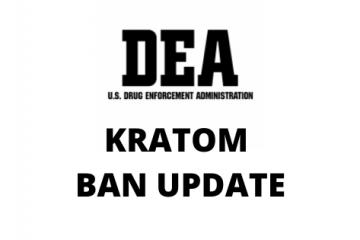 DEA Kratom ban update