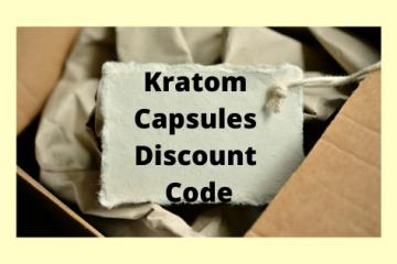 Kratom Capsules Discount Code