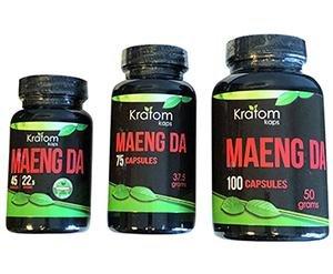 Kratom Kaps capsules