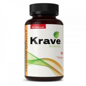 Krave Kratom capsules
