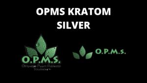 OPMS Kratom Silver