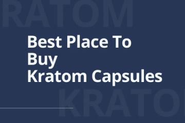 best place to buy kratom capsules