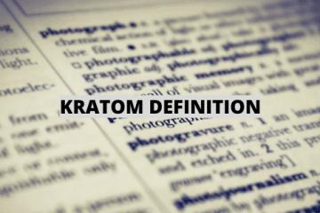 BUY kratom definition