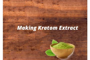 making kratom extract