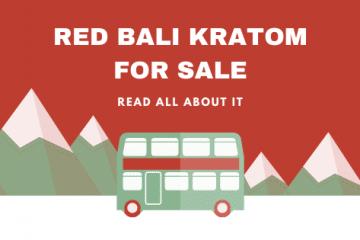 red bali kratom for sale